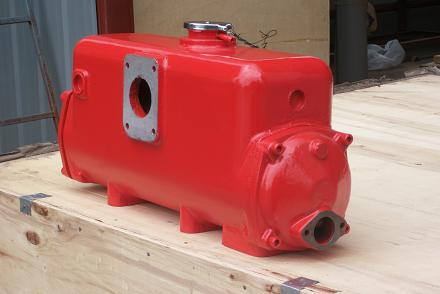 Водоводяной теплообменник судовой Кожухотрубный маслоотделитель ONDA OVS 470/2 Балаково